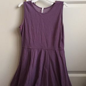 Hanna Andersson Girls Purple Dress Sz: 14/16
